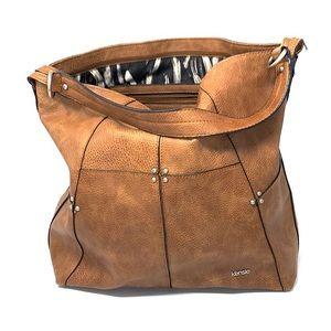 Kensie brown leather Shoulder Bag tote